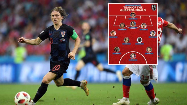 Formacioni më i mirë i çerekfinaleve të Botërorit 'Rusia 2018'