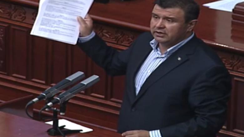Micevski propozon amendament të veçantë për mbrojtje nëse nuk kalon marrëveshja në Greqi
