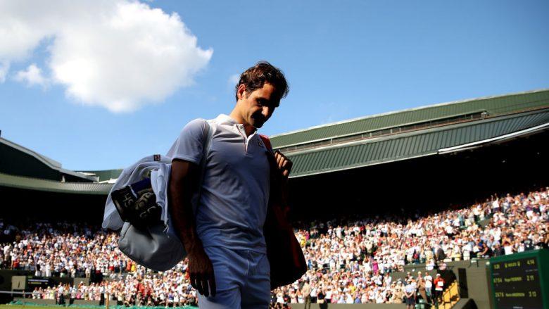 Federeri eliminohet nga Wimbledoni