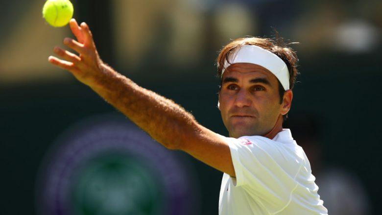 Wimbledon, Federer dhe motrat Williams kalojnë në raundin tjetër