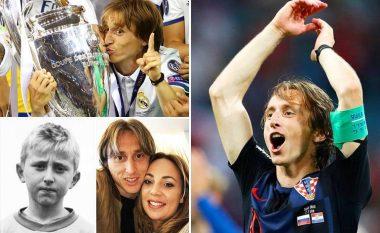 Fituesi i 'Topit të Artë', Luka Modric kishte një fëmijëri brutale – Ishte refugjat, gjyshin ia kishin qëlluar për vdekje në luftë dhe u refuzua disa herë nga disa klube kroate