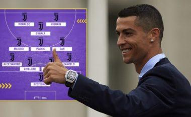 Gjashtë formacionet e mundshme të Juventusit me Ronaldon
