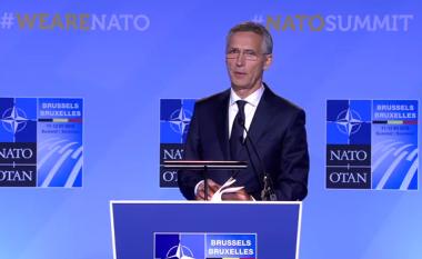 Stoltenberg: Kemi vendosur ta ftojmë Maqedoninë për anëtarësim në NATO (Video)