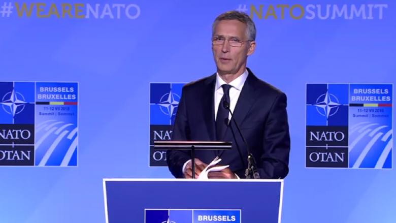 Stoltenberg: NATO mbështet dialogun Kosovë-Serbi
