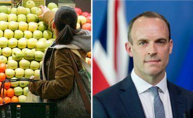 Britanikët po krijojnë rezerva ushqimore për të përballuar BREXIT-in
