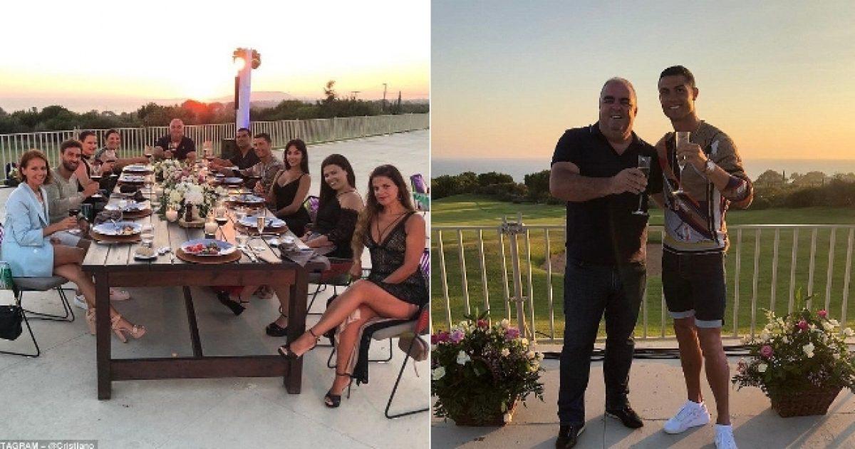 CR7 i la një bakshish të madh hotelit në Greqi ku po kalonte pushimet para transferimit te Juventusi