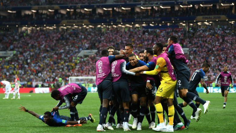 Franca mposht Kroacinë dhe shpallet kampion bote