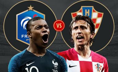 Francë – Kroaci, formacionet e mundshme dhe analiza taktike e finales së madhe