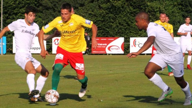 Fitore 14-0 për Oostenden, Guri shënon katër gola