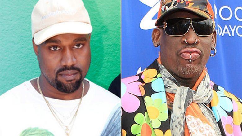 Kanye West e quan Denis Rodmanin një prej inspirimeve më të mëdha