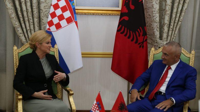 Presidentja kroate: Shqipëria miku ynë, kur miqtë ishin të paktë