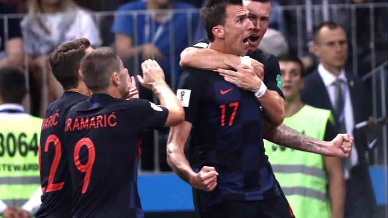 Kroacia shkruan historinë, eliminon Anglinë dhe kualifikohet në finale
