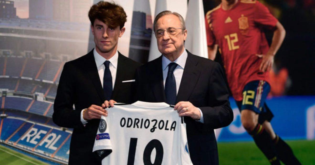 Perez gjatë prezantimit të Odriozolas: Shumë lojtarë fantastik po vijnë te Reali