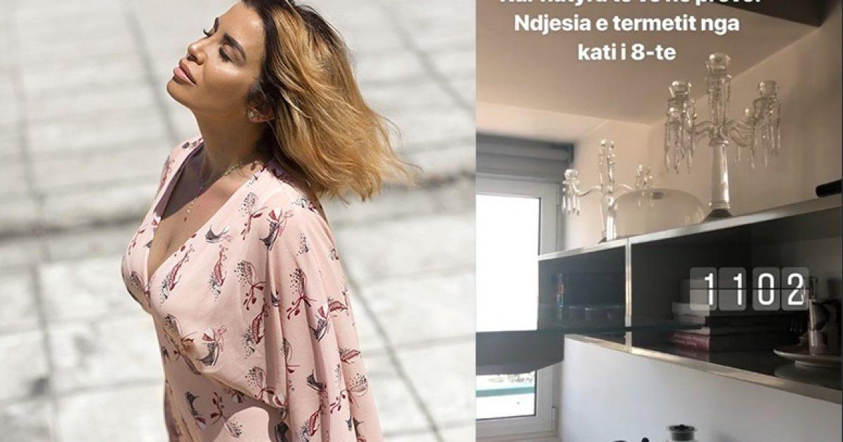 Jonida Maliqi publikon video nga momenti kur ndodhi tërmeti në Tiranë