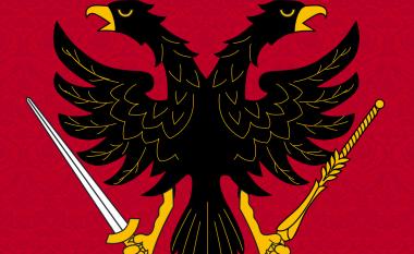 Shqiponja dykrenare stemë e komunës zvicerane (Foto)