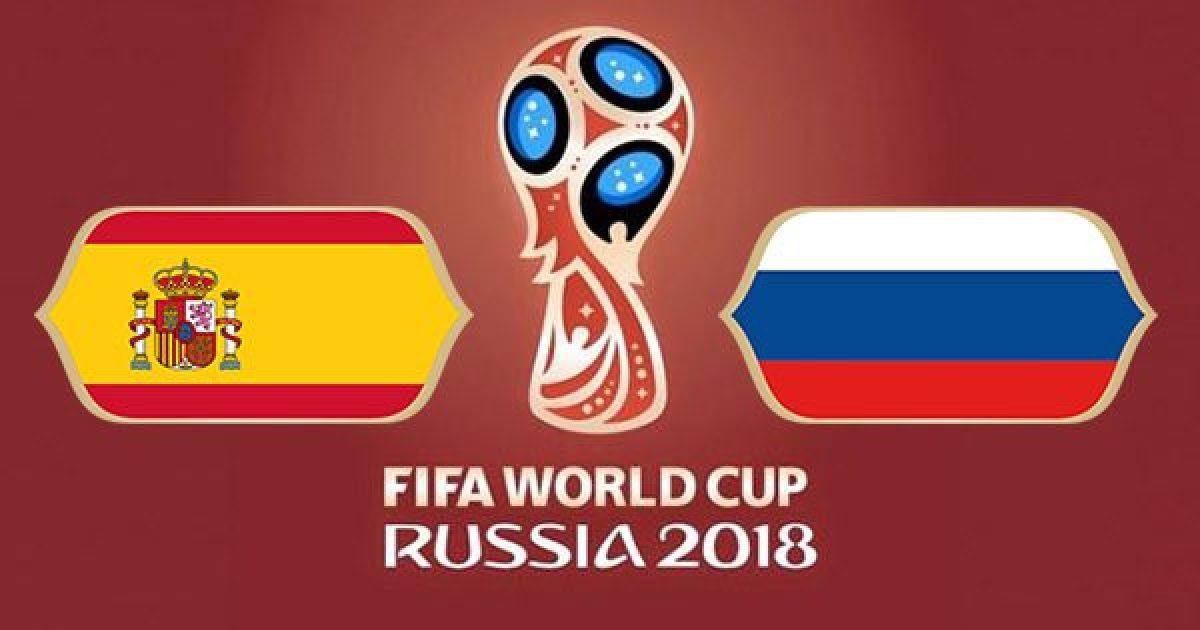 Spanjë – Rusi, formacionet zyrtare