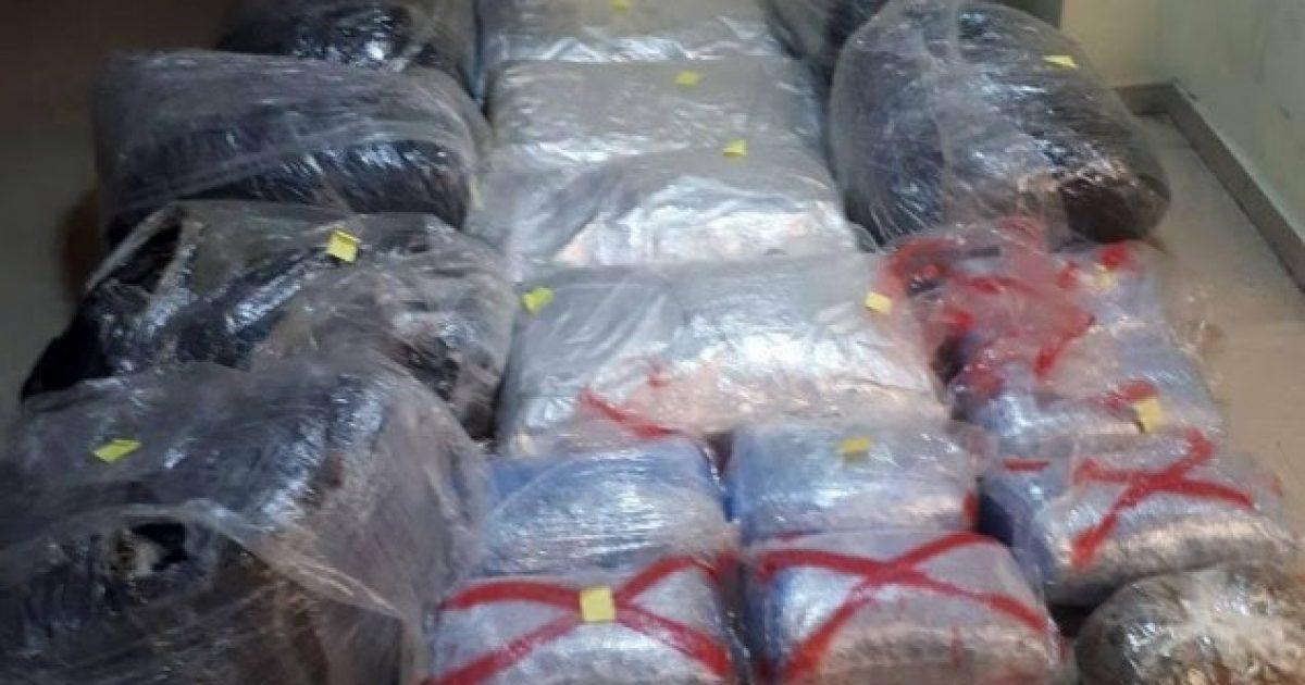 Sekuestrohen 112 kg drogë në Janinë