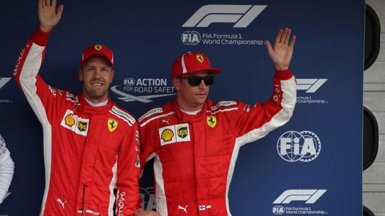 Sebastian Vettel dhe Kimi Raikkonen (Foto: Getty Images)
