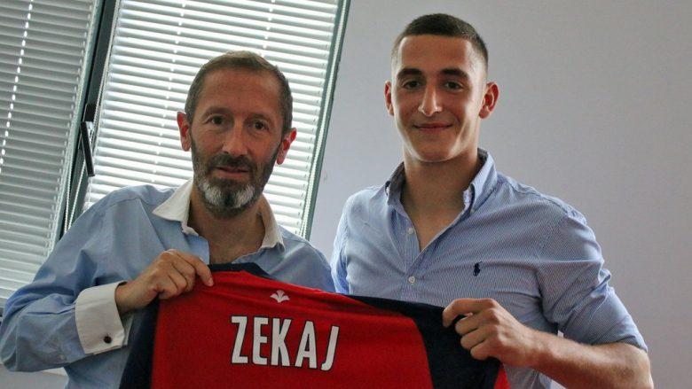 Arton Zekaj transferohet te Lille