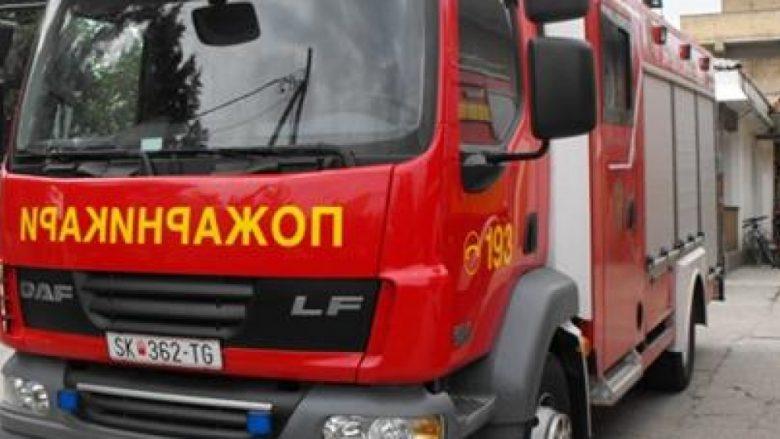 Janë ndezur katër automjete në Shkup