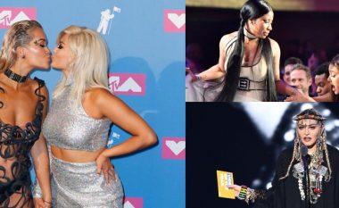 Nga fustani perde te puthjet mes shqiptareve: 10 momente interesante që mund t'iu kenë ikur të MTV VMA-së