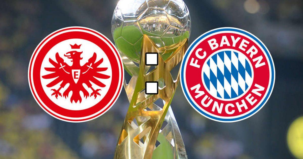 Eintracht Frankfurt – Bayern, formacionet zyrtare të Superkupës së Gjermanisë