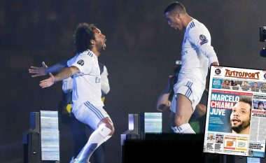 Ronaldo e fton Marcelon te Juventusi