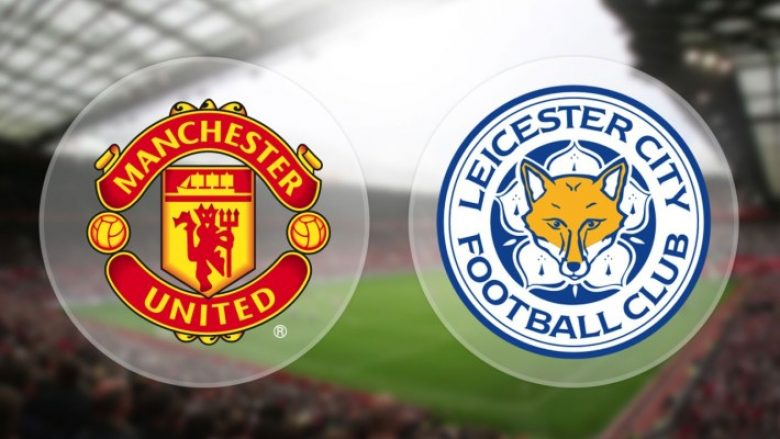 Formacionet zyrtare, Manchester United – Leicester