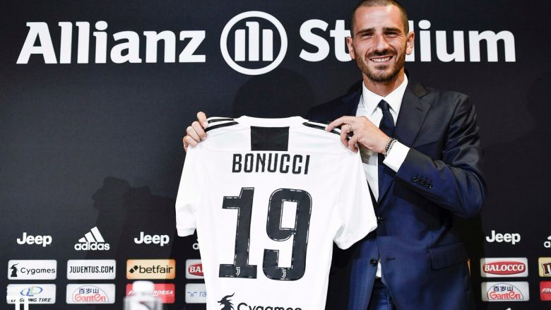 Bonucci prezantohet te Juventusi dhe merr numrin 19: Rikthimi në shtëpi, Allegri, tifozët, Liga e Kampionëve dhe Milani