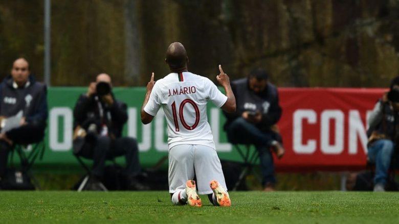 Joao Mario duke festuar golin në miqësoren ndaj Tunizisë (Foto: Getty Images)
