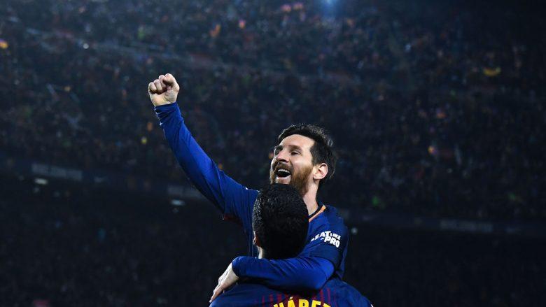 Messi bëhet futbollisti me më së shumti trofe në histori të Barcelonës