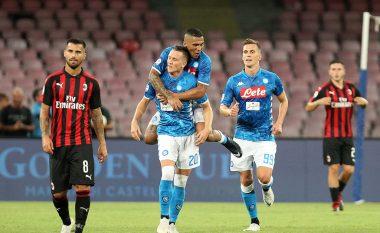 Napoli shënon fitore të 'çmendur' me rikthim ndaj Milanit