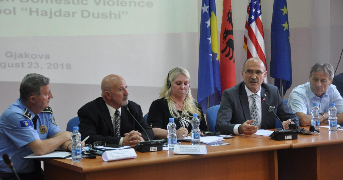 Ministri Gashi: Institucionet kompetente janë të gatshme të parandalojnë dhe luftojnë dhunën në familje