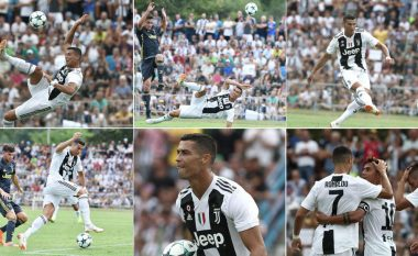 Spektakli Ronaldo, e gjitha ajo që CR7 bëri në miqësoren e Juventusit