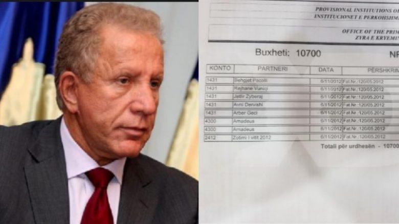 Publikohen faturat që e demantojnë Pacollin: Qindra 'Schwepps' u porositën nga zyra e tij