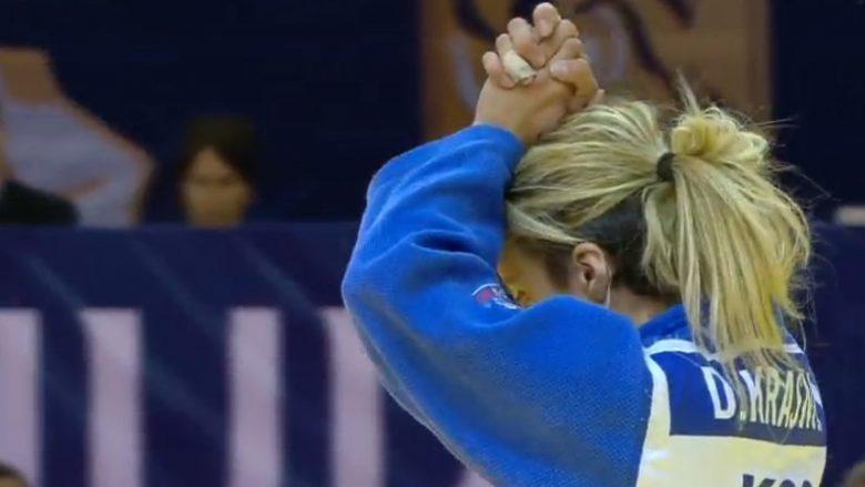 Distria Krasniqi fiton medaljen e bronztë në Grand Prix Budapest