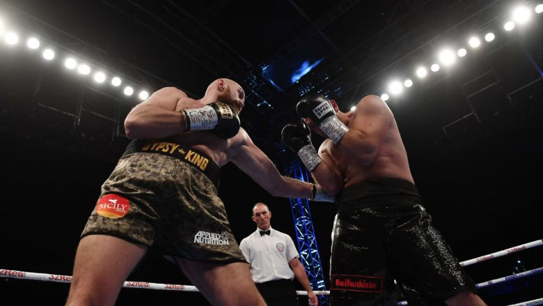 Tyson Fury dhe Francesco Pianeta (Foto: Getty Images)