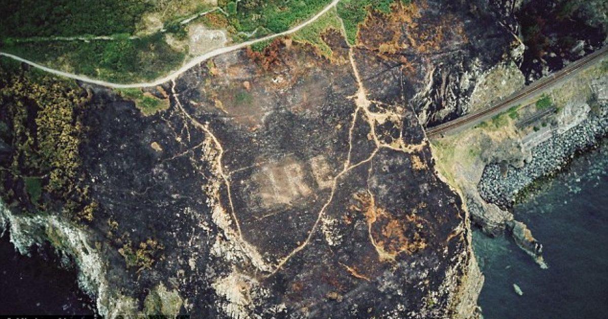 Zjarret masive në Irlandë zbuluan shenjën paralajmëruese të Luftës së Dytë Botërore (Video)