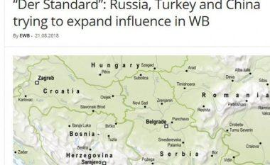 """""""Der Standard"""": Rusia, Turqia dhe Kina po përpiqen të rrisin ndikimin në Ballkan"""
