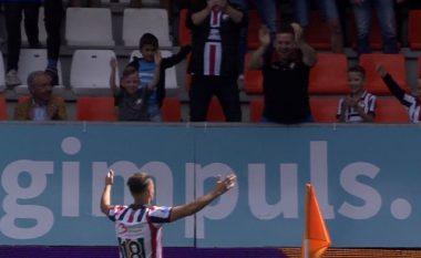 Avdijaj shkëlqen në fitoren e thellë të Willem II, shënon dy gola për tre minuta ndaj Heraclesit