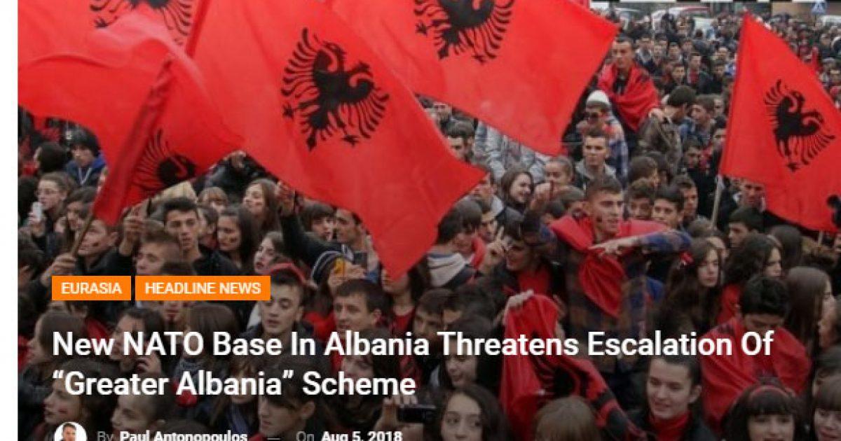 """Baza e NATO-s në Shqipëri, shtypi rus: Skema e """"Shqipërisë së Madhe"""""""