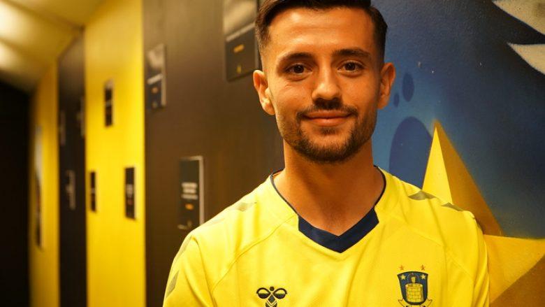 """""""Unë u riktheva"""", Besar Halimi me një video unike zyrtarizohet si futbollist i ri i Brondbyt"""
