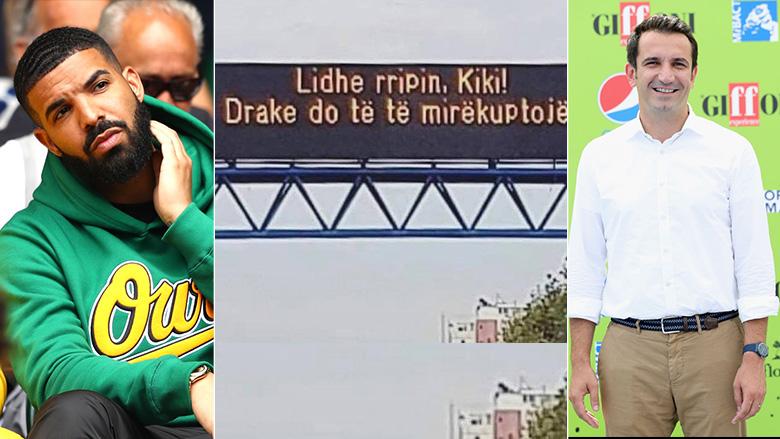 """""""Lidhe rripin Kiki, Drake do të të mirëkuptojë"""", kreativiteti i Erion Veliajt për të ndërgjegjësuar qytetarët"""
