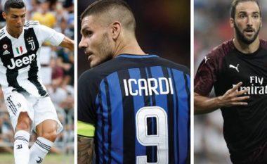 GdS parashikon tetë skuadrat e para në Serie A për sezonin 2018/19