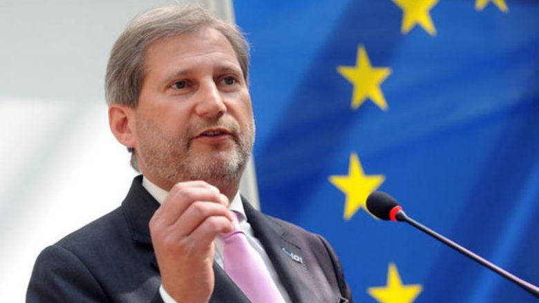 Hahn: Nëse nuk shfrytëzohet kjo mundësi, dera e BE-së mund të mbyllet me dekada