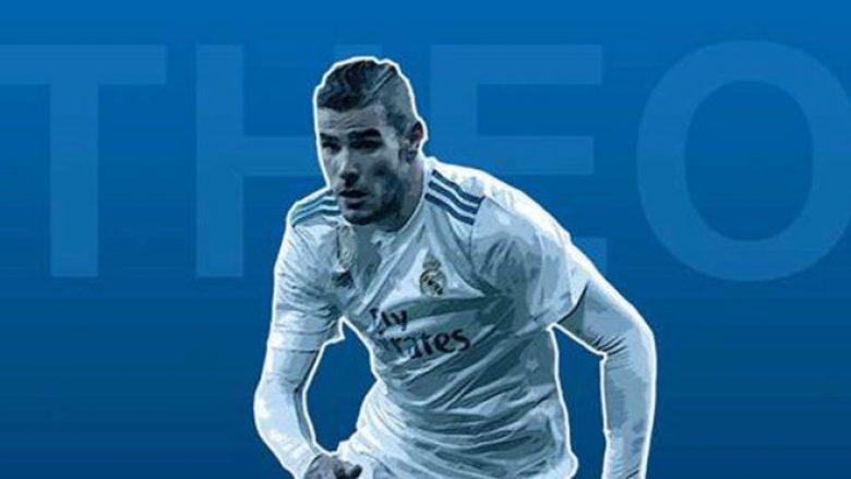 Zyrtare: Reali njofton huazimin e Theo Hernandezit te Sociedadi