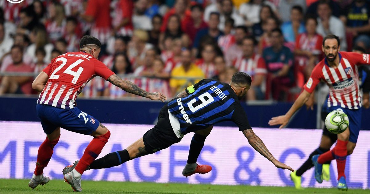 Interi mposht Atletico Madridin në International Champions Cup