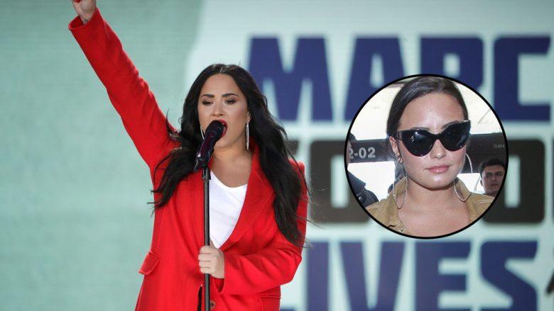 Publikohen imazhet e para të Demi Lovatos pas daljes nga rehabilitimi