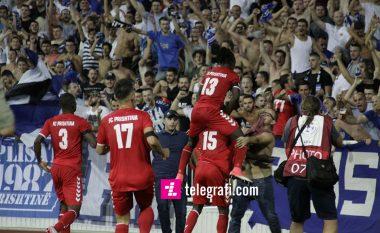 Prishtina fiton në fund ndaj Gjilanit dhe merr kreun e Superligës