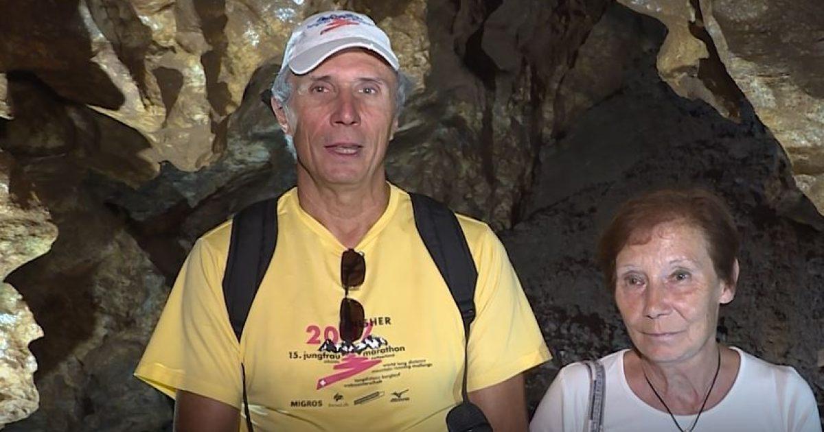 """Turisti zviceran i mrekulluar nga """"Shpella e Gadimes"""": Interesante dhe e mistershme (Video)"""